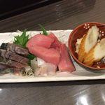 魚菊 - 今ちゃんセットの刺身盛