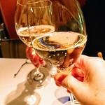 ラ・リリアーナ - スプモーニ(ノンアルコール)で乾杯✨