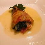 ラ・リリアーナ - アンティパスト(温)☆蛤のパスタ包焼き