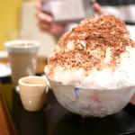 甘味カフェ WARA家 - きなこミルク・かき氷