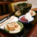 甘味カフェ WARA家 - 小豆コーヒー(名古屋めし珈琲)