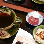 甘味カフェ WARA家 - 小豆コーヒー