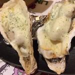 十勝帯広一心本店 - 牡蠣のチーズ焼き