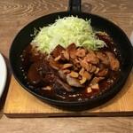 神田の肉バル RUMP CAP - 神田のとんてき200g