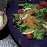 完全個室居酒屋 壱岐 - タルタルソースが別添え「タルタルチキン南蛮」