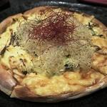 完全個室居酒屋 壱岐 - 「やみつき照り焼きチキンピザ」