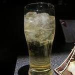 完全個室居酒屋 壱岐 - 「濃醇梅酒のソーダ割り」