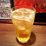 福来呂 - 梅酒ソーダ割り