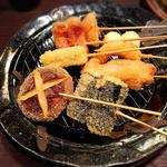 福来呂 - 料理写真:串揚げ盛り合わせ