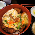 京のつくね家 - 鶏かつ玉子とじ丼 1,200円