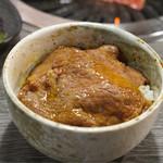 鳥取和牛 因幡の国守 - 焼きしゃぶをon the rice