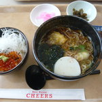 Restaurant Serambi - 蕎麦&ミニいくら丼セット