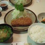 とんかつ さっぽろ 井泉 - 特ロース定食