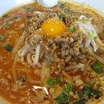 6432353 - 紅のスープの担々麺激辛