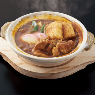 【牛肉トッピング】土鍋煮込みカレーうどん(ごはん付)