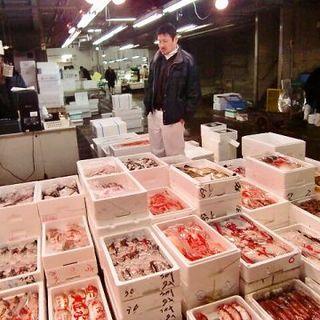 """毎朝オーナー自らこだわって""""旬の魚の仕入れ""""を行っています!"""