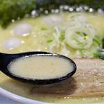 もんたな - 雑味のないクリーミーでコクのあるスープ