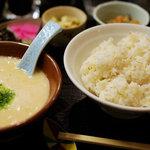 コペ - 麦とろ定食(730円)