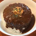 メンチケン - 国産牛100%メンチカツ丼 和風カレーソース880円