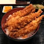ぎおん 天ぷら 天周 - ミックス天丼