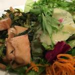 ビストロ石川亭 - 筍と菜の花のバルサミコマリネのアップ