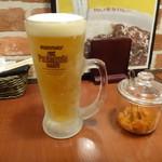 だいきちカレー - ビール