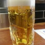 やきとり家 すみれ - 早得の生ビールキリン一番搾り通常290円が190円