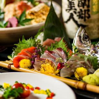 自慢の鮮魚メニューが多数◇新鮮な海鮮料理を♪