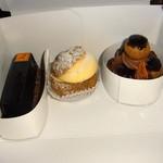 フレデリック カッセル - ケーキ3種