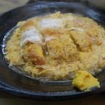 ときわ食堂 - カツの玉子煮 アップ