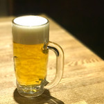 山王苑  - ビール