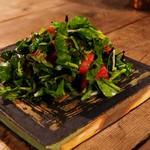 山岡ピザ - オーガニックグリーンサラダ