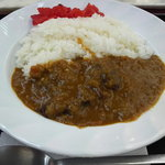 談合坂サービスエリア(下り線)麺コーナー - 牛タンカレー