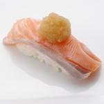 板前寿司 - しゃぶとろサーモン
