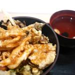 白えび亭 - 富山スペシャル天丼 吸い物付き