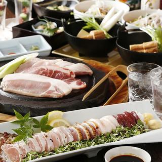 熊本食材を使った名物コースをお楽しみ下さい!