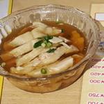 上海屋台 - 酒蒸し鶏の酒漬け(酔っ払い鶏)