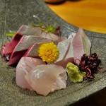 酒菜くどう - 料理写真:お造り盛り合わせ