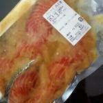 越後魚伊 - 料理写真:サーモン西京漬け