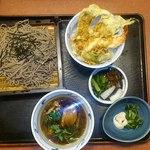 華屋与兵衛 - 料理写真:鴨汁そば+天丼