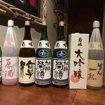 ABRACADABRA博多薬膳鍋 - 日本酒も沢山の種類を取り揃えております