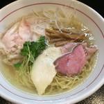 Menyayoshi - 特製義ラーメン(塩 880円)