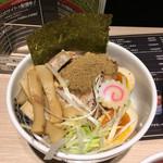 東京アンダーグラウンドラーメン 頑者 - アンダーグラウン丼('17/03/23)