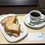 ドトールコーヒーショップ - モーニング