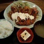 ライスライス - チキン南蛮定食¥730