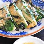 韓食堂 白飯家 - 料理写真:ニラチヂミ