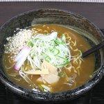 がんばり屋 - カレーうどん(ネギ多め:714円)