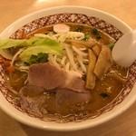 ラーメンめん丸 - 料理写真:味噌野菜らぁめん