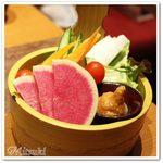 64350994 - 彩野菜の桶盛り