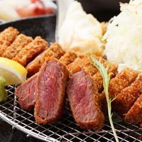 厚切り牛かつ専門店 神戸 牛かつ亭 - デミグラスソースの厚切り牛かつ膳